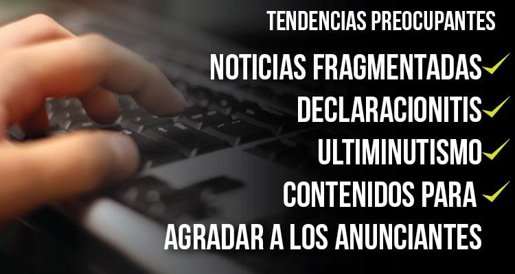 Foto: Clases de periodismo