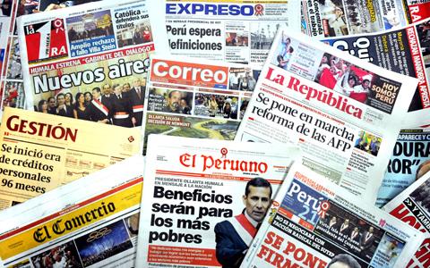 Diarios y revistas de españa