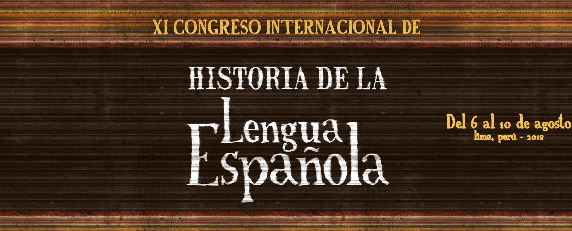 XI Congreso Internacional de Historia de la Lengua Española